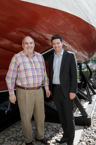 Holocaust Museum Houston Benjamin Warren and Henrik Rasmussen