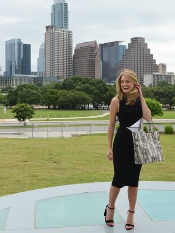 Handbag designer Kelly Wynne Ferguson