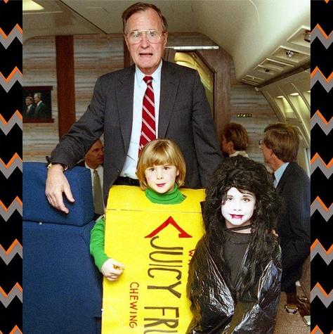 George W Bush Halloween photo Instagram