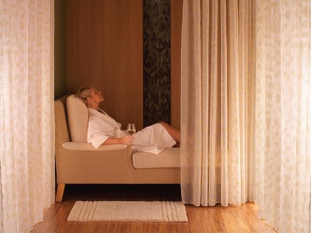 Mokara Spa at the Omni Houston Hotel Relaxation Room