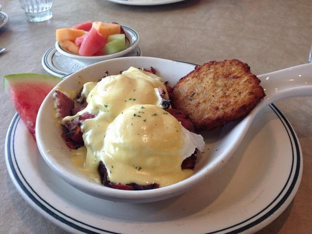 Benedict's Addison, eggs