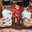 Starbucks Fruitcake Frappuccino