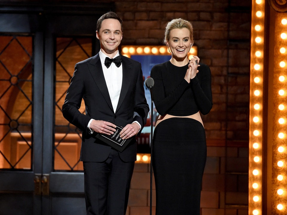 Tony Awards 2015 Jim Parsons and Taylor Schilling