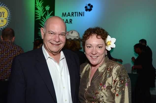 373 Bob Lordi and Julie Farr at the Craft Museum Martini Madness party January 2015