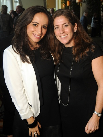 46 Greta Pliskin and Audrey Fersten at the Guardian luncheon November 2013
