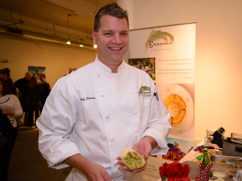 Chef Danny Trace from Brennan's