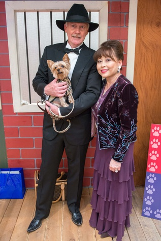 Edward and Rini Ziegler with Winston at the Citizens for Animal Protection Gala November 2014