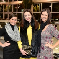 0, Art Happy Hour at Momentum Audi, December 2012, Katy Peace, Heather Pray, Melissa Seuffert