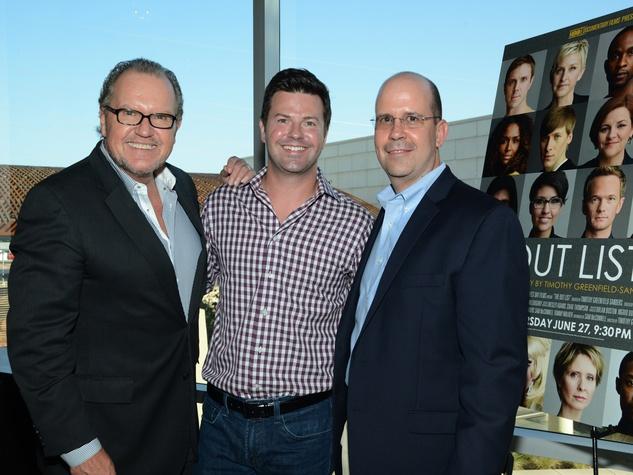 John McGill, Ron Corning, Mike Hopper, Black Tie Dinner, HBO