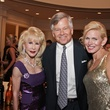 Diane Lokey Farb, from left, with Mike and Terrie Turner at the Best Cellars dinner.