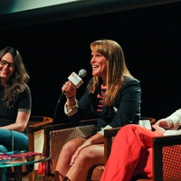 8, Mountain Film at Asia Society, February 2013, Emily Long, Olympian Heather Petri, Laura Wood Collins