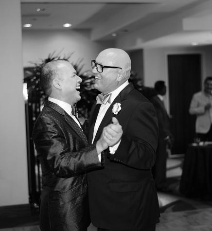 Alex Martinez, left, David Arpin at Alex Martinez's birthday party July 2014