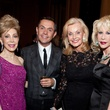 Margaret Alkek Williams, from left, Shaune Leane, Pat Breen and Diane Lokey Farb at the Asprey dinner October 2013