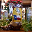 Texas boot at Lucchese store in Highland Village