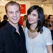 Ricky Grunden, Nadia Dabbakeh, the dallas art fair preview gala