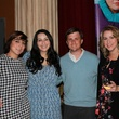 Audrey Luttmann, from left, Rosie Murphy, Corbett Parker and Sarah Johnson at the Friends of St. Jude Spring Happy Hour March 2015