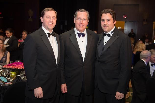 Symphony Ball, May 2015, Christopher Dewhurst; Gene Dewhurst; Andrew Dewhurst
