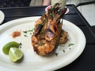 La Grange grilled shrimp