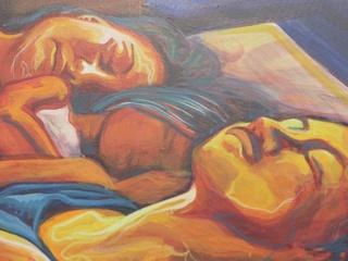"Sleeping Carperos by Adriana Maria Garcia ""Cosmic Vida"""