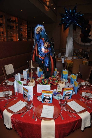 Houston, News, Shelby, Escape Celebrity Serve Benefit, April 2015, table setting at Tony's