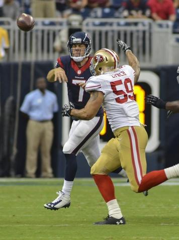 Case Keenum on run Texans 49ers
