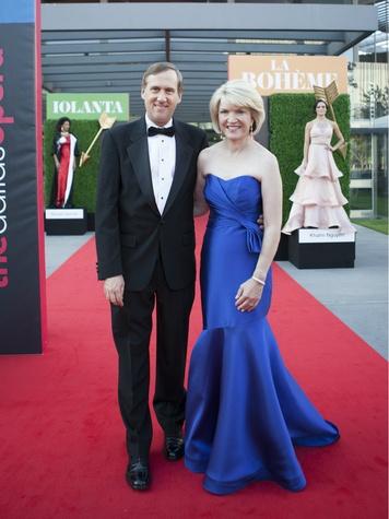 Keith Cerny, Jennifer Cerny, Dallas Opera First Night