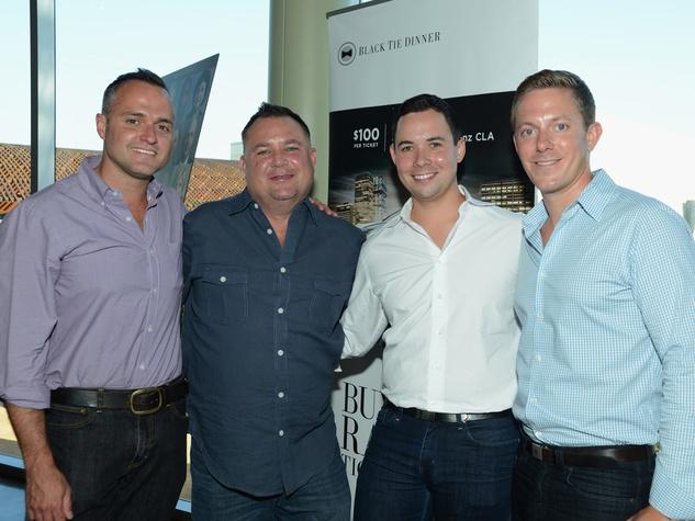 Travis Matthews, Brian Jordan, Josh Delafuente, Ben Collins, Black Tie Dinner, HBO