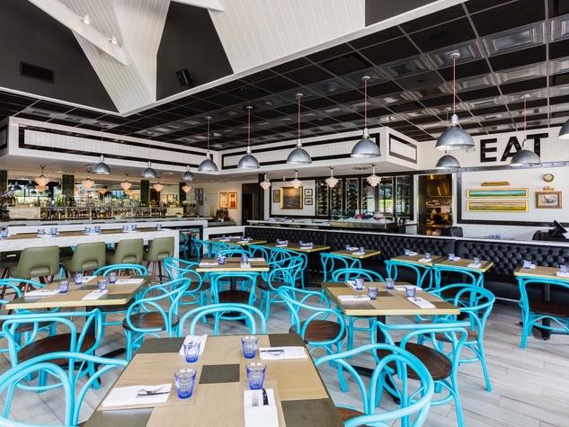 Star Fish restaurant interior