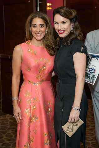 Krista Somerville, Samantha Kennedy at Mission of Yahweh gala