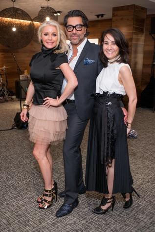 Party at Centurion 6/16, Joyce Echols, Ceron, Amy Johnston