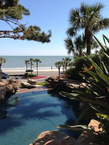 San Luis Resort Galveston H2O Pool Ultra Lounge