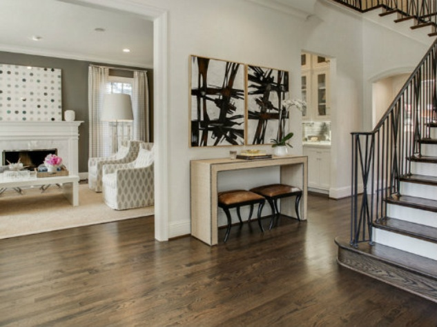Traditional Foyer Xl : Top north texas builders lay out all the trendy home