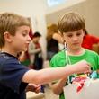 Children at Dallas Museum of Art