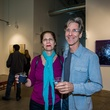 Joanie and Dr. Brian McKenna at Justin Garcia presents 7 Unlayered October 2014