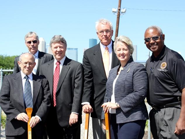 Interfaith Ministries Meals on Wheels groundbreaking Mayor Annise Parker Judge Ed Emmett