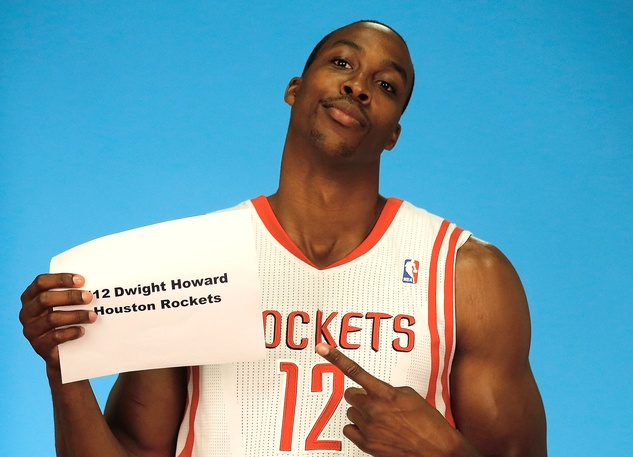 Dwight Howard Rockets