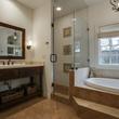 Master bathroom at 5338 Ellsworth Ave in Dallas