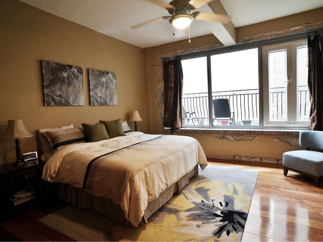 On the Market No. 902 Capitol Lofts July 2014 master bedroom