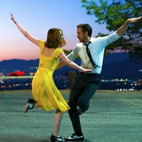 Emma Stone and Ryan Gosling in La La Land