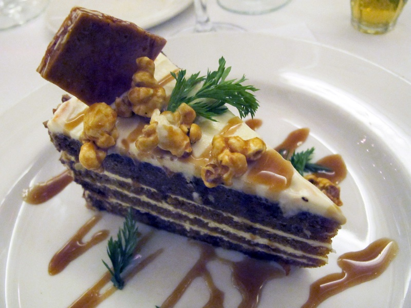  James Beard dinner, Brennan&#39;s, September 2012, cake