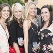 Leila Myers, Micah Baker, Kira Valentino, Tiffany Fascher, white party kick off
