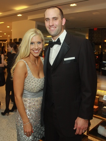 Tootsies Valentine's party, February 2013, Laurie Schaub, Matt Schaub