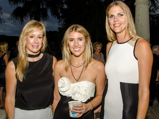 Andra Liemandt, Carla Armstrong and Paula Burns at Dancing With the Stars preview in Austin