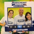 News, Shelby, Silver Eagle Distributors at Food Bank, July 2015 , Rachel Weir, Doug Mraw, Roxann Neumann