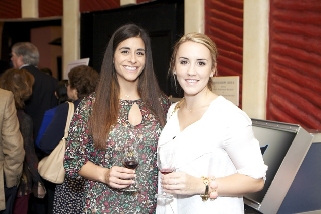 1225 Lori Pendergrass, left, and Brooke Hudson at the Passport to the World wine and food event at The Health Museum October 2014
