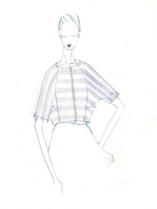 Son Jung Wan sketch and inspiration New York Fashion Week spring 2016
