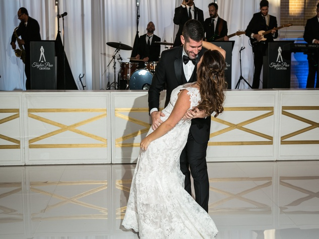 Monica Kitt Wedding first dance