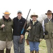 Stacy L. Owen, from left, Robert L. Gerry IV, Downing Mears and Robin French at The Fine Art of Shooting March 2015