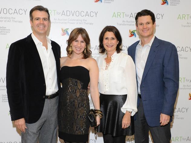 Chuck Jacaman, Lindsay Jacaman, Annie McLeod,  Stewart McLeod, Art For Advocacy