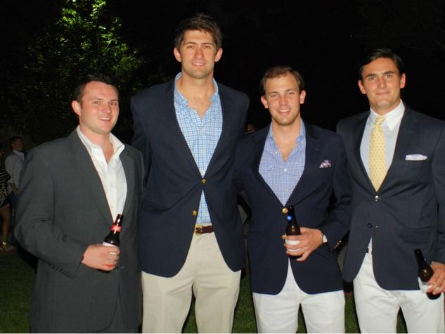 Gordon Kellerman, Trapper Edward Graff, Jay Neikirk, Scott Ogilvie, LPJC Yacht Party